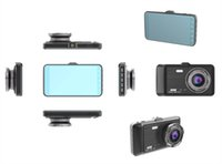 4 Inch IPS Dual lens Car DVR Dash cam 170 Degree wide angle Loop Recording Camera With Parking Monitoring GT500