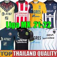 21 22 22 club America Soccer Jerseys Uanl Tigres Liga MX 2021 Chivas Guadalajara 115th 115 anni Camicia da calcio UNAM Camiseta de Futbol 2022 Cruz Azul Camisa