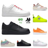 nike air force 1 airfoce one af1 off white Top Moda Sneakers Mens Womens Shoes AirforçaUm Outdoor Running Sombra Spruce Aura Sapphire Barely Utility Black Sport Shoe Shoe