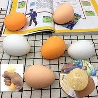 محاكاة بيضة لعبة الحسية اسفنجي كرات الكبار الضغط اللعب الإجهاد الإغاثة متعة الهدايا حزب اللوازم