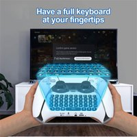 Game Controllers & Joysticks Wireless 3.5mm Bluetooth 3.0 Controller Chat Keyboard Suitable For PS5 Gamepads 500mA Battery Capacity ABS Mate
