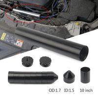 """Aluminium 10 """"6"""" Förlängning Spiral 1 / 2-20 1 / 2-28 5 / 8-24 Bilbränslefilter Lösningsmedelsfälla för Napa 4003 Wix 24003 USPS Shipping"""