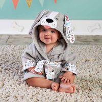 Designs Cooked Animal Model Ing Baby Hatrobe / Мультфильм SPA полотенце / персонаж Детская ванна халат / Младенческие пляжные полотенца полотенца
