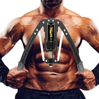핸드 그리퍼 유압 전력 트위스터 조정 가능한 팔 - exerciser - 홈 가슴 확장기 22-440LBS, 저항을 가진 남성과 여성을위한 피트니스 장비 바