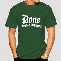 Men's T-Shirts Bone Thugs N Harmony Logo T Shirt Vintage Hip Hop Rap Group Tee Eazy-E Classic-1548A