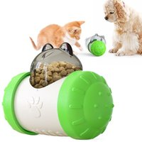 Dogs Cats Food Leakage Slow Feeder Swing Bear Shape Dog Toy Puzzle Interactive IQ Treat Dispenser Pet Chasing Ball