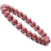 8mm Natural Stone Beaded Strands Handmade Elastic Charm Bracelets Party Club Decor Jewelry For Women Men