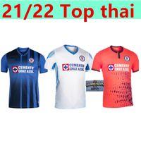 2021 2022 Club Cruz Azul Soccer Jerseys Champions Blue Blanc Accueil 3ème Shirts Football Liga MX Camisetas de Futbol Kit Jersey Goalkepeer Jersey