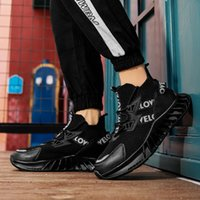 mens running shoes women trainers Triple Black White Light Blue Breathable 258 Outdoor Sports Sneakers size 39-45