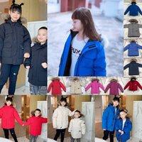 겨울 아기 캐나다 코트 다운 fourrure 모피 재킷 Goode Coats 자녀 재킷 파커 아이 까마귀 Doudoune 위장 Homme Kids Parkas