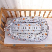 Portable Removable Baby Nest Bed For Boys Girl Travel Infant Cotton Cradle Sleeping Crib Bassinet Born Protector Cribs