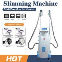 FAT Congélation Machine taille Minceur Cavitation RF Réduction RF Lipofreeze 2 Têtes peut fonctionner au même moment pour le salon SPA