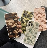 Retro Camouflage mobile phone cases iphone 11 pro silicone photo frame IMD all-inclusive anti-drop iphone7   8 plus soft shell