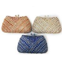 Вечерние сумки Xiyuan горный хрусталь шампанское / голубое 8 цветов женские алмазные клатча сумка роскошные дамы кристалл на плечо вечеринка
