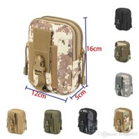 HOT Nylon Emergency Kits First Aid Kit Waist Camouflage Pack Outdoor Cam Travel Tactical Molle Pouch running portable Phones bag