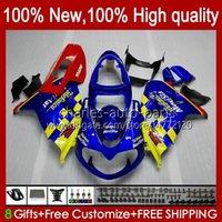 Carrosserie pour Suzuki Srad TL1000R TL 1000R Bleu Glossy Stock TL1000 R 98 99 00 2001 2002 2003 Body 19HC.12 TL-1000R 98-03 TL-1000 TL 1000 R 1998 1999 2000 01 02 03 Kit de carénage OEM