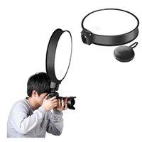 30Cm 40Cm Round Speedlight Softbox Flash Diffuser Universal Portable On-Top Soft Box for Camera