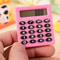 Papelería Boutique Pequeña Calculadora Plaza Personalizada Mini Color Color Escuela Oficina Oficina Electrónica Calculadora Creativa