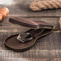 Vintage Jewelry Storage Box Luxury Leather Watch Case Wallets1