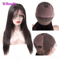 360 Full Spitze Menschenhaarperücken 150% 210% Dichte 10A Grade Brasilianisches jungfräuliches Haar Full Spitze Perücken für Frauen Perräne de Cheveux Statains