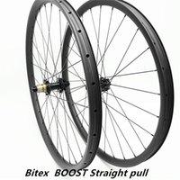 자전거 바퀴 hookless 29er mtb 디스크 30x30mm tubeless bittx bx402 xD 스트레이트 풀 110x15mm 148x12mm 탄소 cn 424 1540G