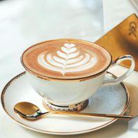 Cups & Saucers European Style Simple Ceramic Coffee Cup Saucer Set Porcelain Afternoon Tea Luxury Ceramics Teacups Sets Home