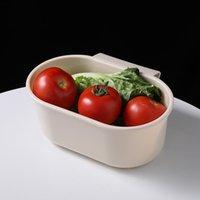 Waschbecken Abflusskorb Küchenzubehör Abläufe Rack Aufbewahrungsschüssel Racks Obst Gemüse Wasserfilter Kunststoff Trottel CAN SEE SHIP RRD6759