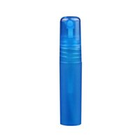 Nouveau 5ml mats plastiques rechargeables bouteille de parfum vides de parfum de parfum d'atomiseurs de parfum de maquillage spray liquide échantillon bouteille Botella