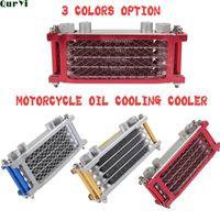 Parts Universal Oil Cooler For Dirt Bike Pit Monkey ATV Quad Motorcycle Radiator Cooling 110cc 125CC 140cc