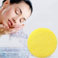 12PCS الوجه غسل تنظيف ضغط قطاع لينة الإسفنج غارقة المياه لتنظيف وجبة الوجه أداة ماكياج مصنع منفذ مصنع