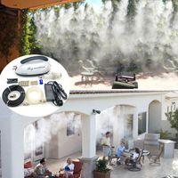 HS-03 Hochdruck 0,2l / min Mini-Nebel-Maschine Diablett Full-Set-Nebelkühlsystem für Patio-Bewässerungsgeräte