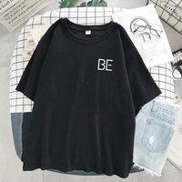 Women's T-Shirt 2021 BE Print Harajuku Kpop Korean Style Short Sleeve Cute Casual Hip-hop Top