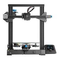 Printers 3D Printer Ender-3 V2 Mainboard Silent TMC2208 Stepper Drivers 32bit UI&4.3 Inch Color Lcd Carborundum Glass Bed