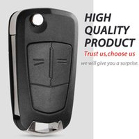 2 Button Flip Folding Car Key Cover Fob Case Shell Styling For Vauxhall Opel Astra H Corsa D Vectra C Zafira Astra Vectra Signum