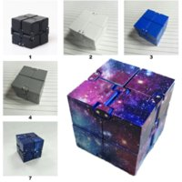 Infinity 큐브 크리 에이 티브 하늘 마법의 Fidget 장난감 Antistress 장난감 플립 큐빅 퍼즐 미니 블록 압축 해제 재미 있은 선물