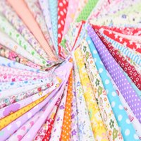 Cotton Fabric Patchwork Purse Quilting Craft Fabric bundles Applique Sewing 25*25cm Choose 50 Color ZHL6156