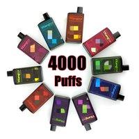 Tek Kullanımlık Vape Cihazı 4000 Puffs YKang Kutusu E Sigara Şarj Edilebilir 550mAh Pil 10 ML Pods Puf Barı