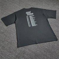 T 셔츠 스피드 헌터 18FW 대형 남성 여성 11 고품질 탑 티 스트리트웨어 스피드 런터 티셔츠