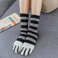 Socks & Hosiery Soft Warm Bed Socks~ Pattern Cat Fluffy Ladies 1 Women Pair