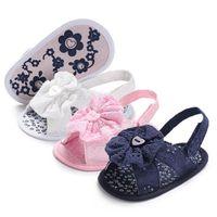 Первые ходунки детская обувь малыш для девочек обувь детей детские цветочные сандалии B5769
