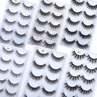 False Eyelashes Beeos 5 Pairs 3D Mink Lashes 20mm Natural Eyelash Extension Makeup Beauty Maquillaje