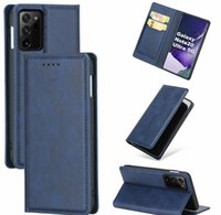 Cell Cases Leather Case For Samsung Galaxy S10 10 Plus S10E Note 20 S20 Ultra A01 A21 A21S A51 A71 Magnetic Wallet Stand Hokler Phone Ws28K