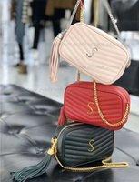 Высочайшее качество натуральная кожа LU маленькая камера сумка на плечо женские мужчины Tote Crossbody сумки роскошный дизайнер Mylon мода магазин кошелек чехлы карт