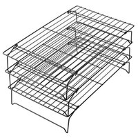 Grade 3Tier Cooling Rack Stackable Racks For Cookies Thick- W...