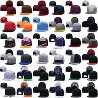 2021 Siyah Spor Gömme Kap Erkek Kadın Tam Kapalı Basketbol Kapaklar Beyzbol Rahat Eğlence Katı Renk Moda Boyutu 6 3/4 Popüler Snapback Ayarlanabilir Strapback Şapka