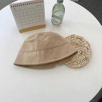 Hsa 2021 godet chapeaux femmes femmes couleur solide chapeau coréen style protection UV Protection d'été soleil
