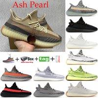 Statik Siyah Yansıtıcı GID Glow Kil Gerçek Formu Statik Koşu Ayakkabıları Erkek Kadın Hipertansiyon Zebra Krem Beyaz Kadın Tasarımcı Sneakers 36-48