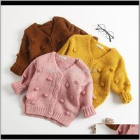 Outwear Clothing Baby, Kids & Maternity Drop Delivery 2021 Pudcoco Us Stock Fashion Autumn 1-3 Years Toddler Baby Girl Sweater Warm Knitting