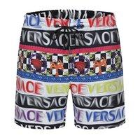 Tasarımcı mayo erkek yüzmek rahat şort mektup baskı nefes moda mayo plaj pantolon yüksek kalite 4 renkler mevcut M-3XL