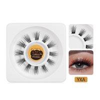 Wholesale 3D Clusters False Eyelashes DIY Segmented Eyelash Extension Portable Handmade Individual Volume Fake Lashes Set